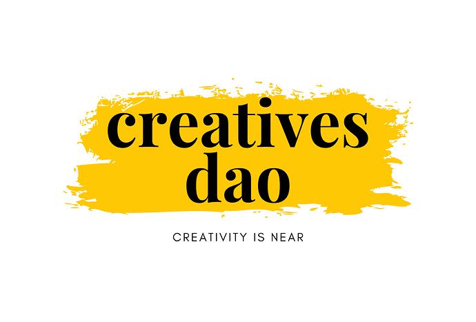 Creatives DAO - Event Logo for Airmeet 1536 x 1040 px